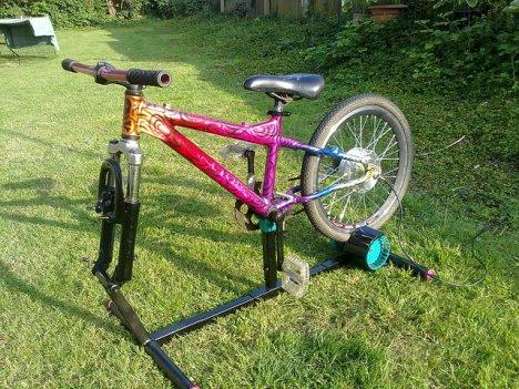 Creative Dynamo Bike