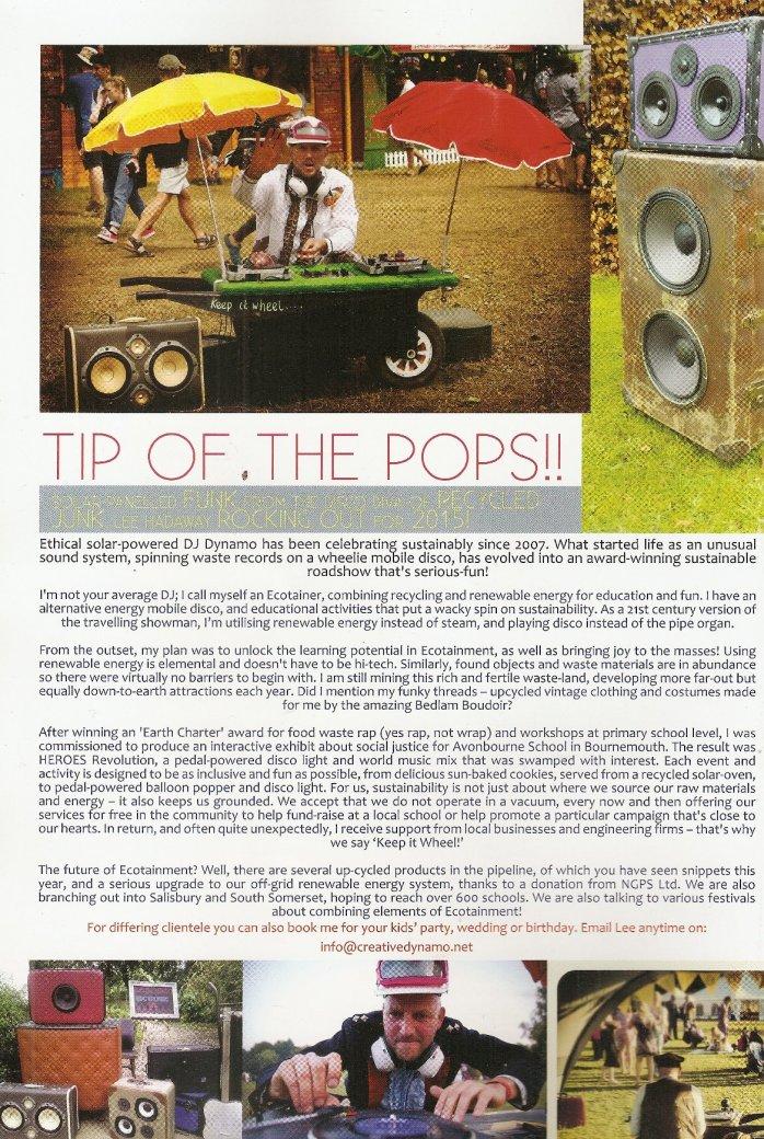 Arkadia magazine article