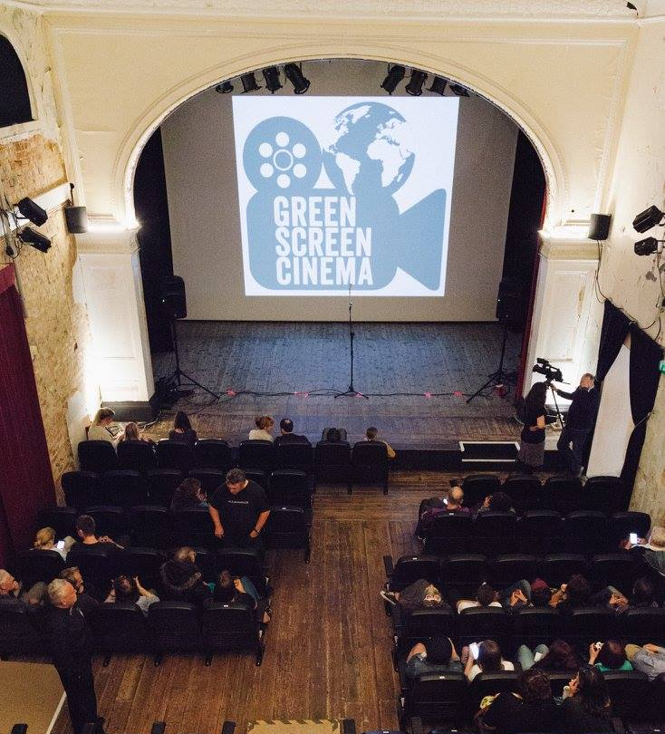 Shelley Theatre view from Projection Room